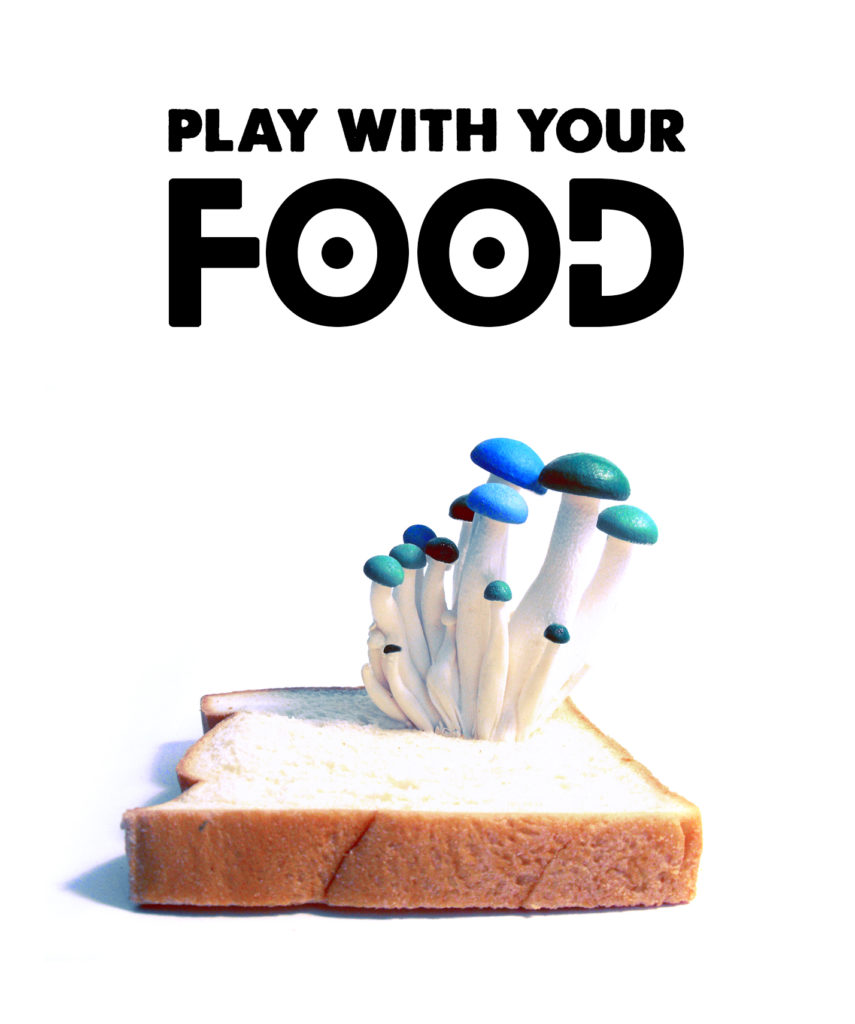 Play with your food - prop design for advertisements by Crystal Smith